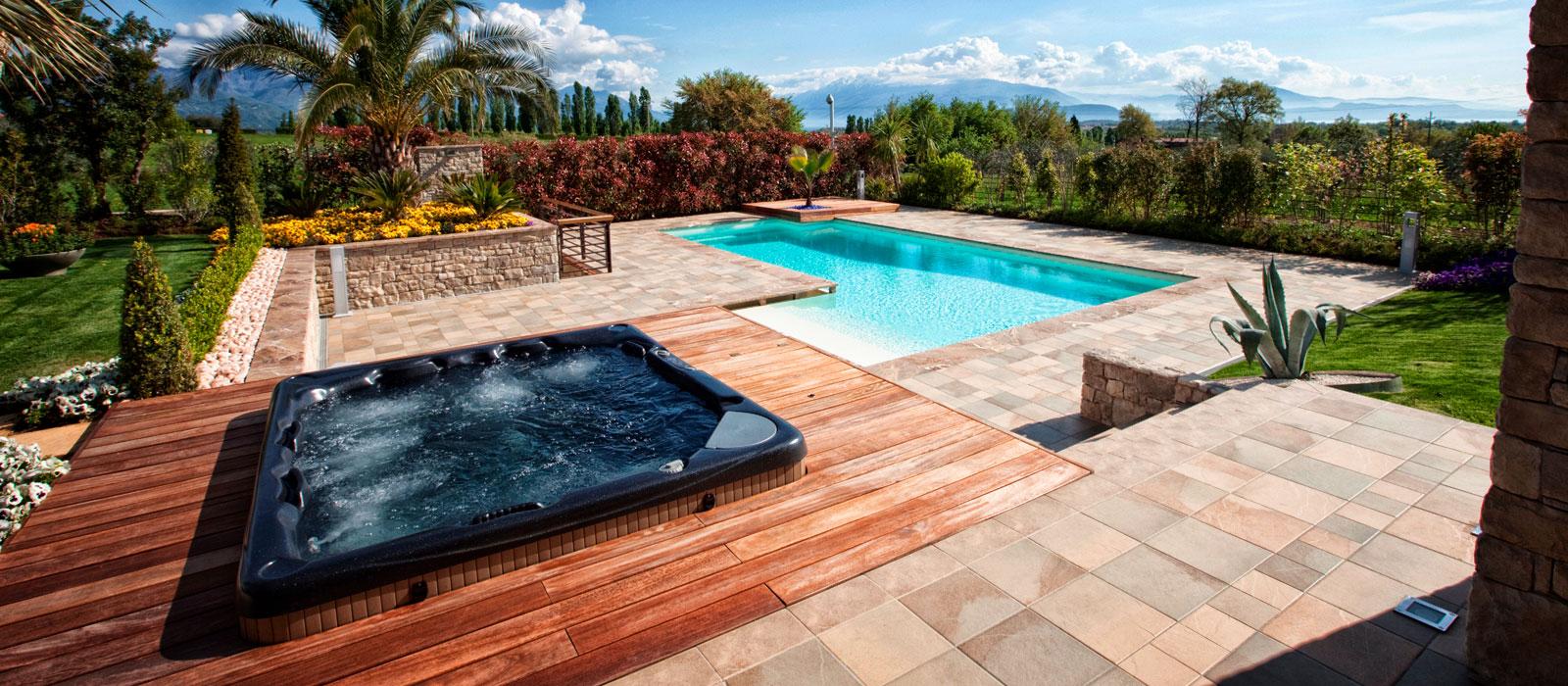 Spa e idromassaggio da esterno piscine dess - Piscine in muratura prezzi ...